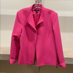 Fully lined quilted Louben blazer